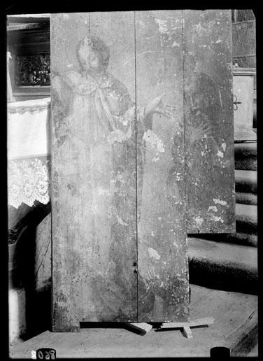 La Transfiguración, Fragmento de un retablo [Material gráfico]