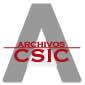 Logo Archivos del CSIC