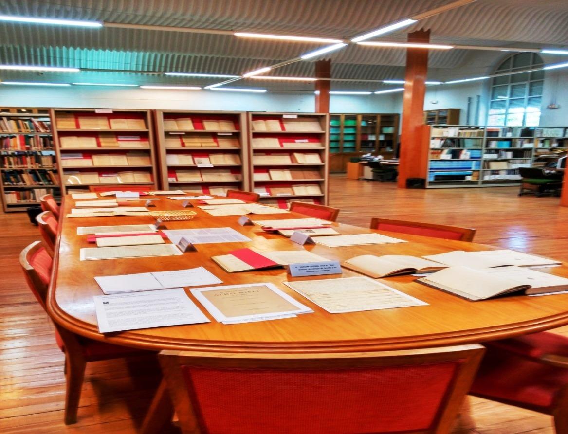 Día Internacional de los Archivos 2016. Panorámica de la exposición